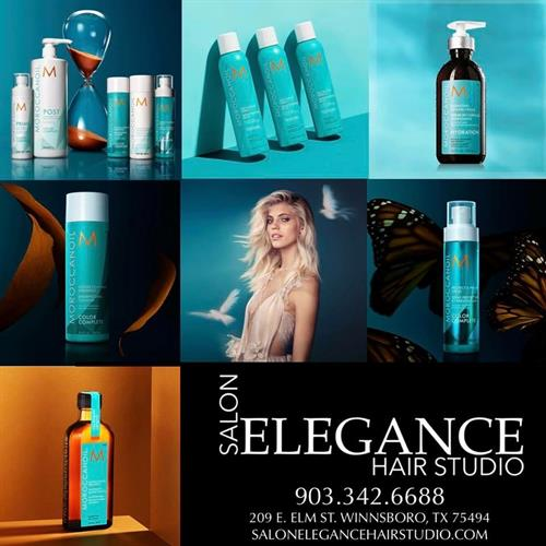 MOROCCANOIL Sold @ Salon Elegance Hair Studio