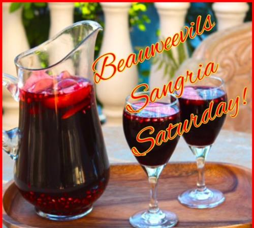Complimentary Sangria served ever Saturday!