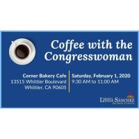 Coffee with Congresswoman Linda Sanchez