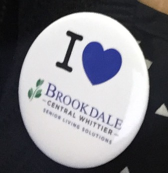 I heart Brookdale Central Whittier!!! Contact Jerry Warner 'Promo Guy' to get yours today!!!!