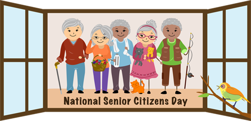 Celebrate Natinal Senior Citizens Day -August 21, 2015
