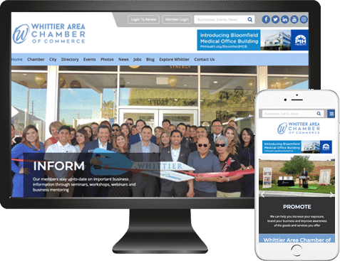 Whittier Chamber Website