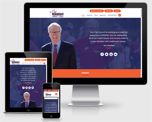Mayor Mayor Joe Vinatieri Campaign Website