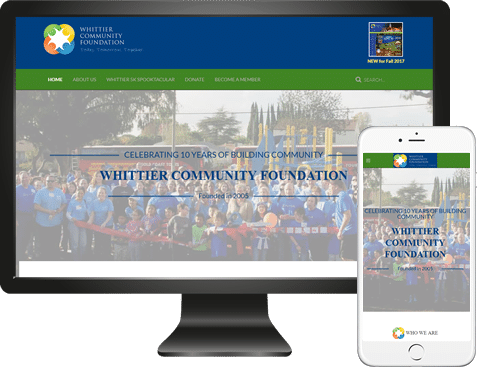Whittier Community Foundation Website