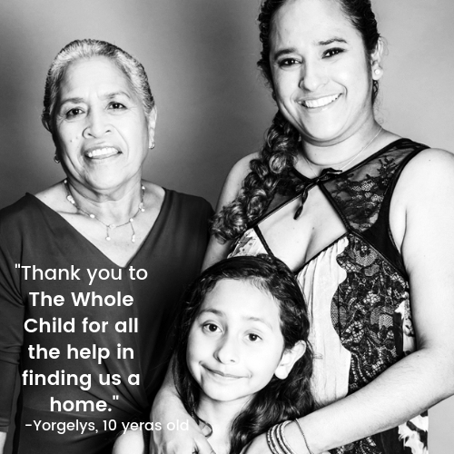 The Whole Child's Housing Program is the lead Housing agency for families experiencing homelessness in Southeastern Los Angeles County.