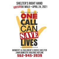 Shelter's Right Hand to Hold 5K Virtual Walk to Benefit Victims of Domestic Violence