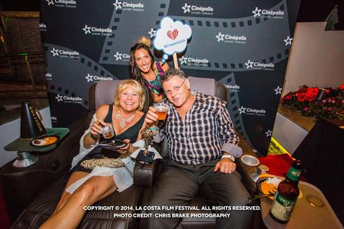 Cinépolis Luxury Cinemas-La Costa Comfy Leather Seats at Sip & Savor