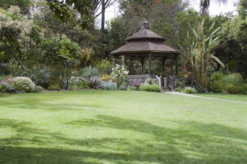Our Gazebo Lawn is a popular location for weddings & special celebrations