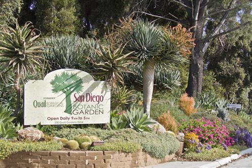 San Diego Botanic Garden Entrance