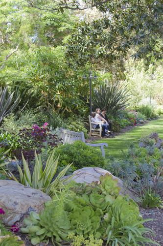 Come and relax in one of our 29 uniquely-themed gardens