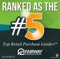 The fifth largest purchase lender in the country