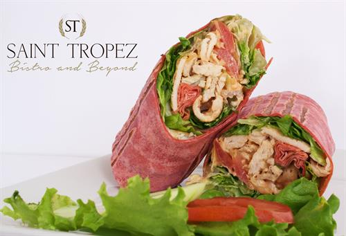Chicken wrap Saint Tropez