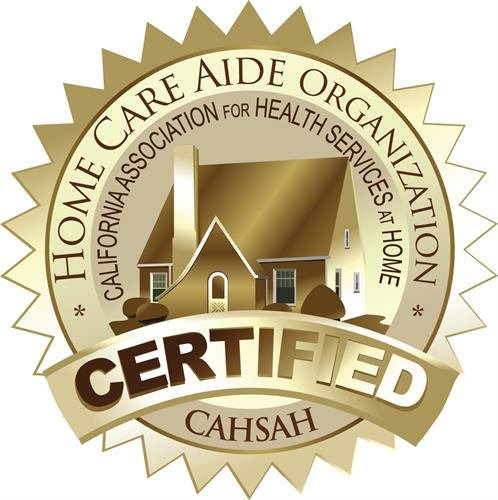 Proudly CAHSAH Certified