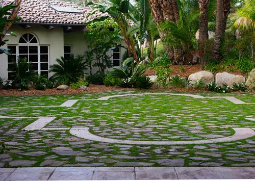 Rancho Santa Fe Courtyard