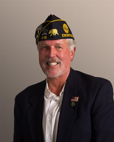 San Dieguito American Legion Post 416 Commander, Matt Shillingburg, United States Army Retired