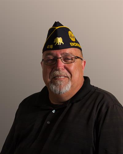"San Dieguito American Legion Post 416 Sargent-At-Arms, Tracy ""Milo"" Dalton, USMC"