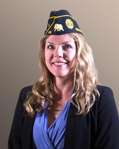 San Dieguito American Legion Post 416 2nd Vice Commander, Brittany Schoor, USN