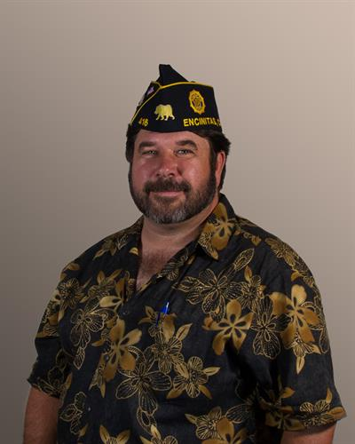 San Dieguito American Legion Post 416 Adjutant, Scott Marquette, United States Army