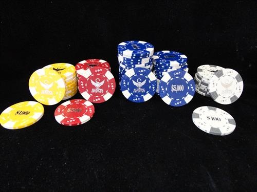 Poker Chips for events...we do that too!