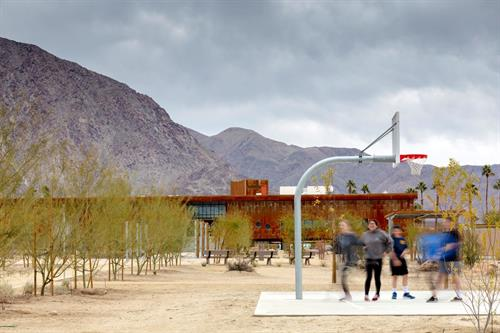 Borrego Springs Park - recreation for all generations.