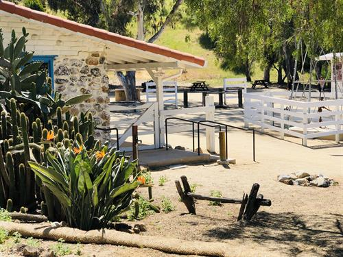 Leo Carrillo Ranch Historic Park - We worked with Page & Turnbull architects and we designed the restoration of the corral and arena, while adding outdoor lighting, drinking fountains and full accessibility.