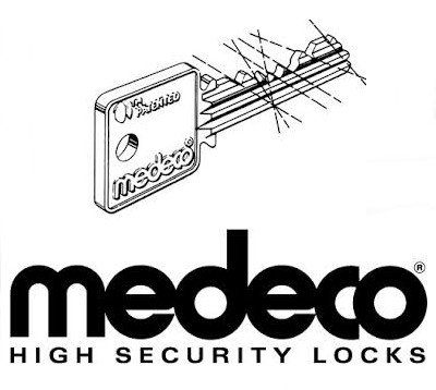 Medeco Sales and Service.  No one can copy your keys with Medeco on your doors!