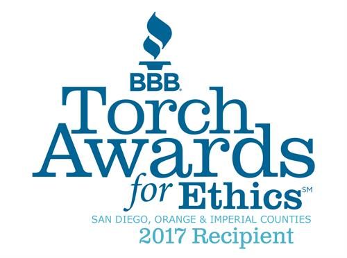 2017 Torch Award Winners for Marketplace Ethics