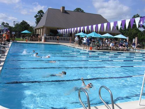 Home of Raveneaux Racers Swim Team