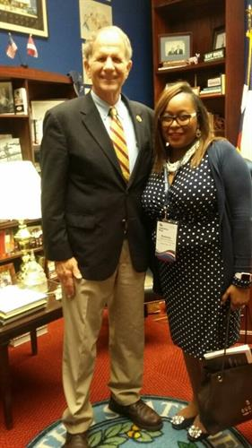 Our CEO with Congressman Ted Poe