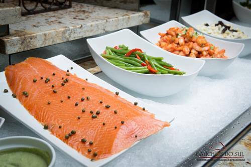 Salad Bar- Smoked Salmon