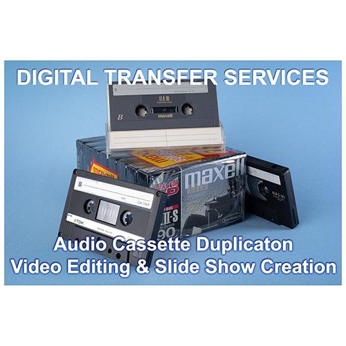 Audio Cassette duplication & Video Editing Services