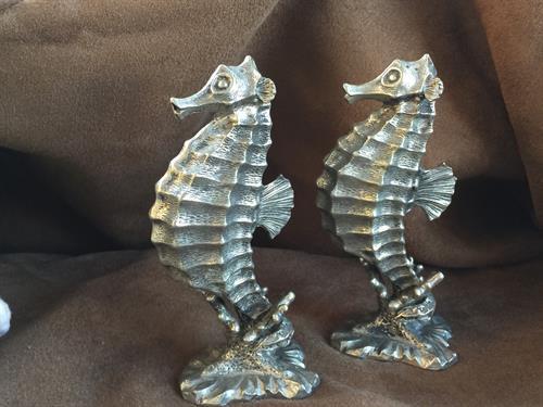 Whimsical Seahorse Salt & Pepper Shakers