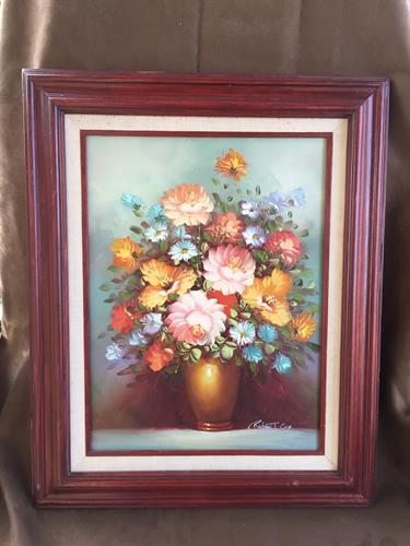 Vintage Painting signed Cox California Artist
