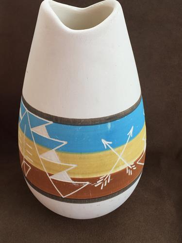 Southwest Signed Pottery Vase