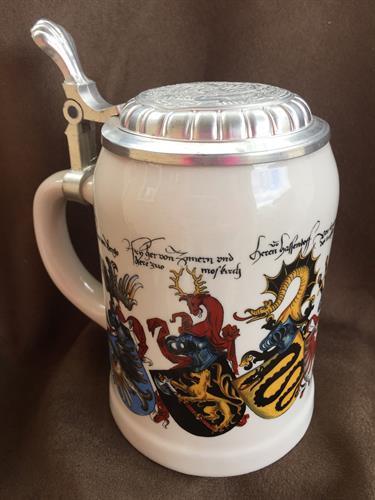 German Dragon Beer Stein