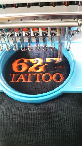 623 Tattoo embroidery