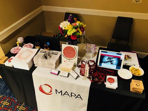 MATSOL Conference 2018 - Sponsor & ExhIbitor Table