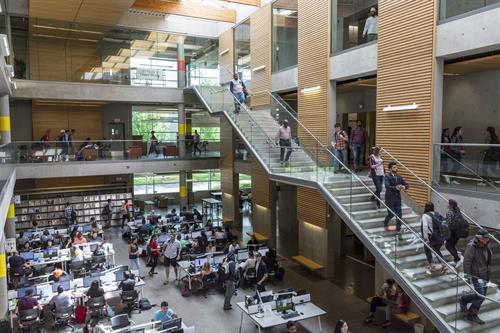 Surrey campus library