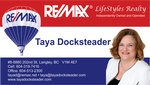 Taya Docksteader, RE/MAX Lifestyles Realty