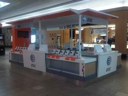 ATT Cellular Mall Kiosk