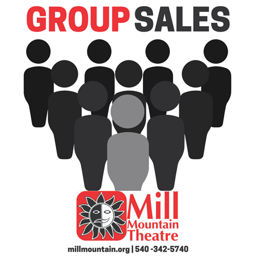 Group Sales: 10% off Tickets for Groups of 10 or more. 15% off for 50 or more tickets.