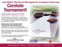 Salem Terrace at Harrogate 2nd Ever Cornhole Tournament Fundraiser