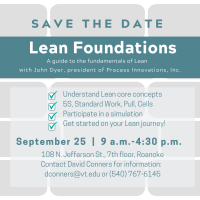 Lead Foundations:  A guide to the fundamentals of Lean