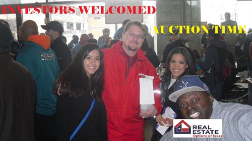 Auctions investment properties