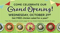 Chicken Salad Chick Grand Opening Week