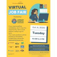 Workforce Solutions- Virtual Job Fair