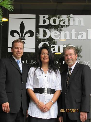 Drs John, Jennifer, and Joseph Boain