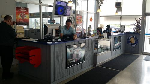 Service Counter