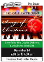 "Hawthorne Players presents ""Songs of Christmas"""