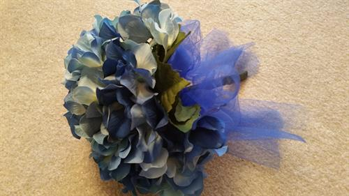 Hydrangea Hand Held Bouquet